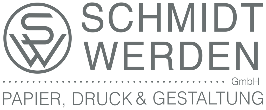 Logo Schmidt-Werden Druckerei Dortmund